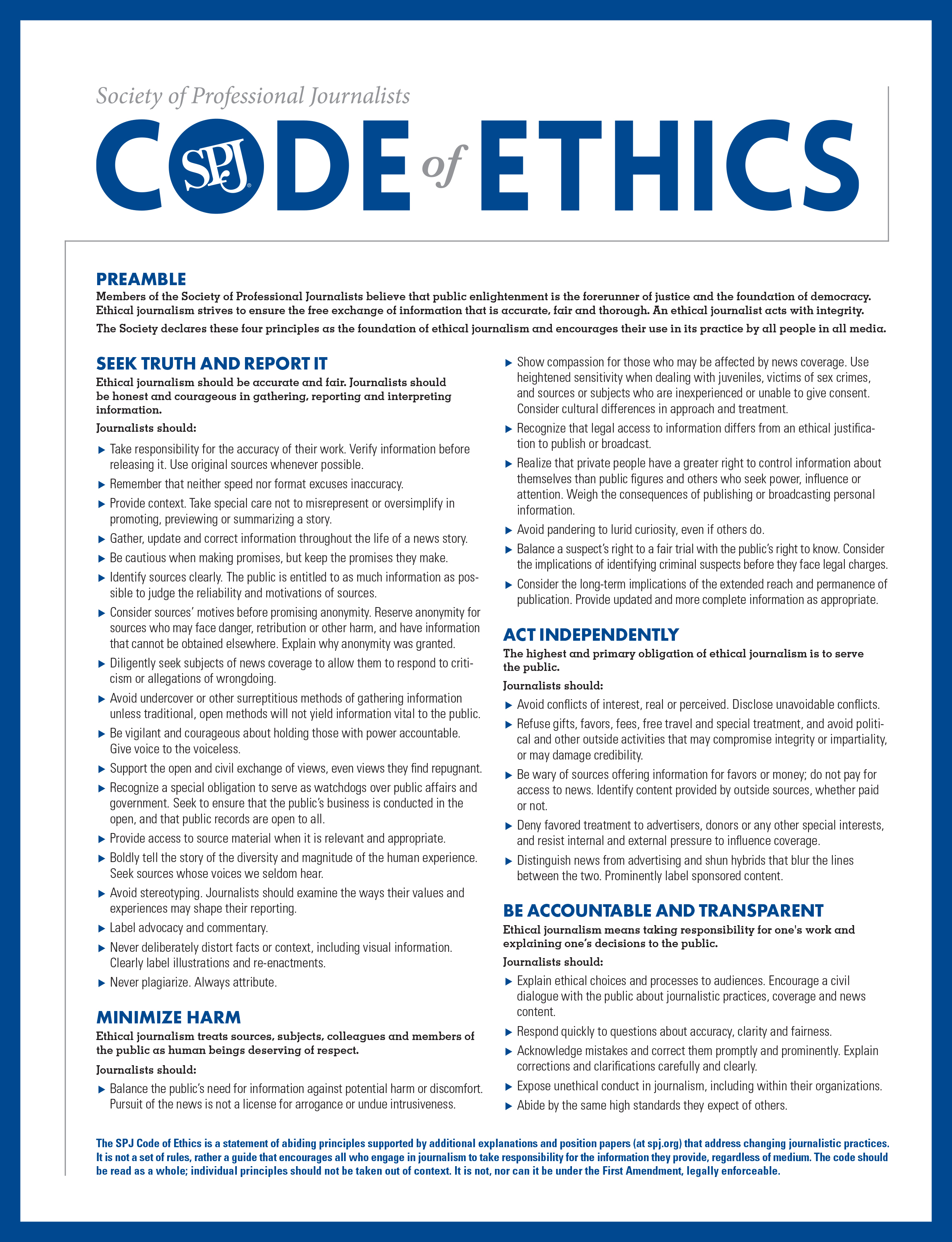 examining the professional code of conduct nursing essay Been slow in changing the demographics of the nursing profession  need to  examine practices and traditions that favored some and excluded others,   nurses are bound by an ethical code of conduct (ana, 2015) that calls for the  inherent.